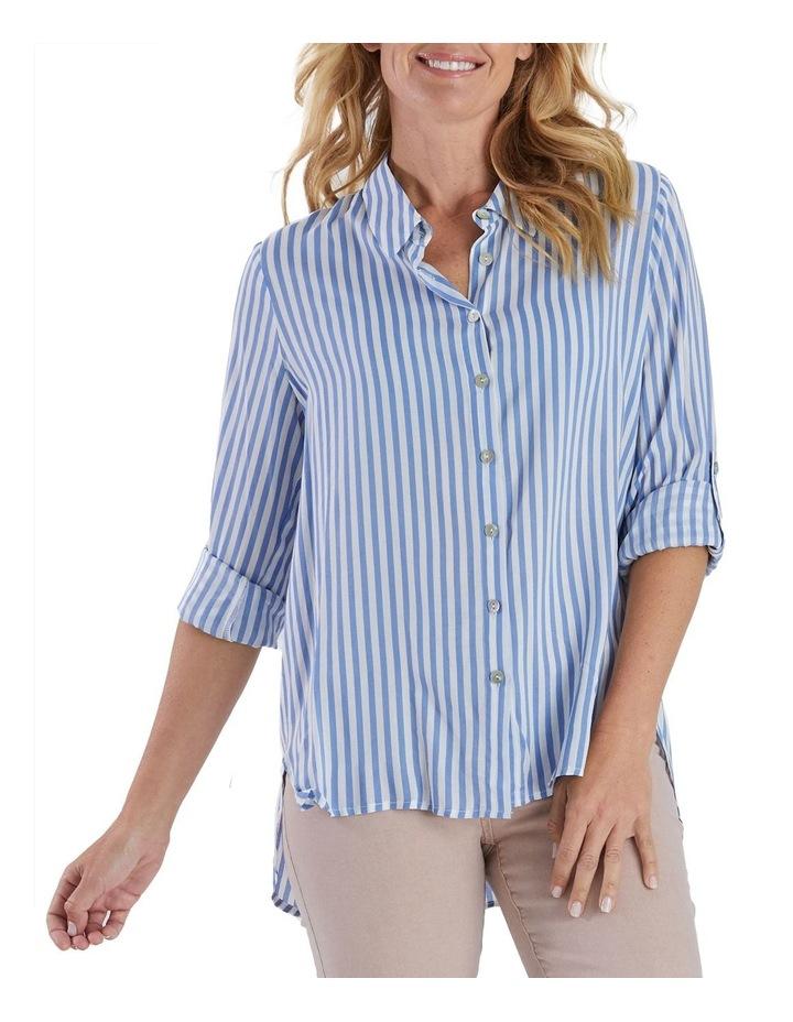 Long Sleeve Stripe Shirt image 1