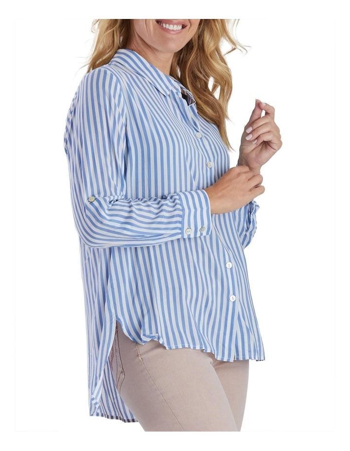 Long Sleeve Stripe Shirt image 2