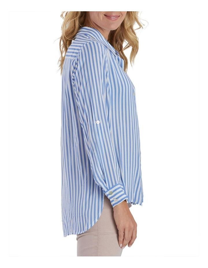 Long Sleeve Stripe Shirt image 3