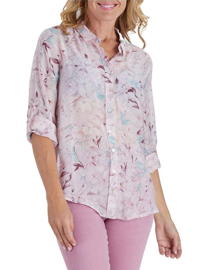 Floral Print Long Sleeve Shirt image 1
