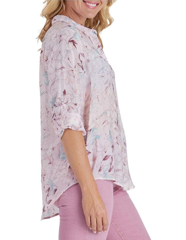 Floral Print Long Sleeve Shirt image 2