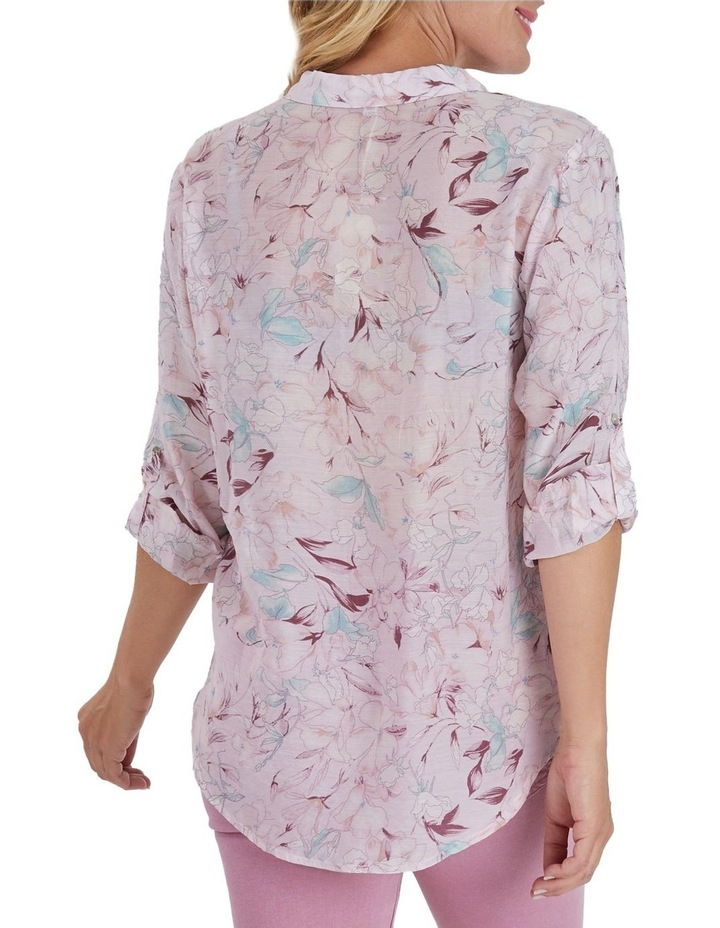 Floral Print Long Sleeve Shirt image 3