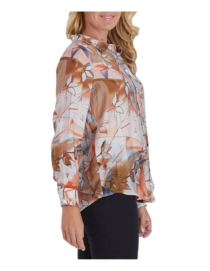 Autumn Print Long Sleeve Shirt image 2