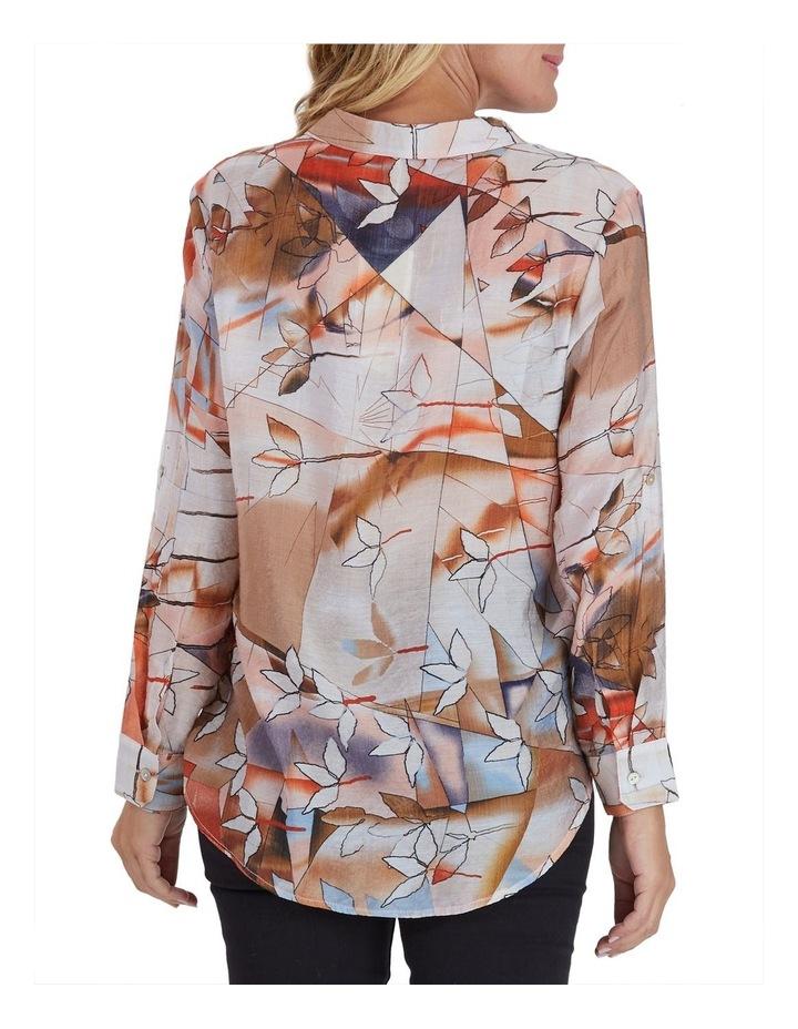 Autumn Print Long Sleeve Shirt image 3