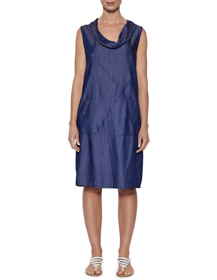 Cowl Neck Tencel Dress image 1