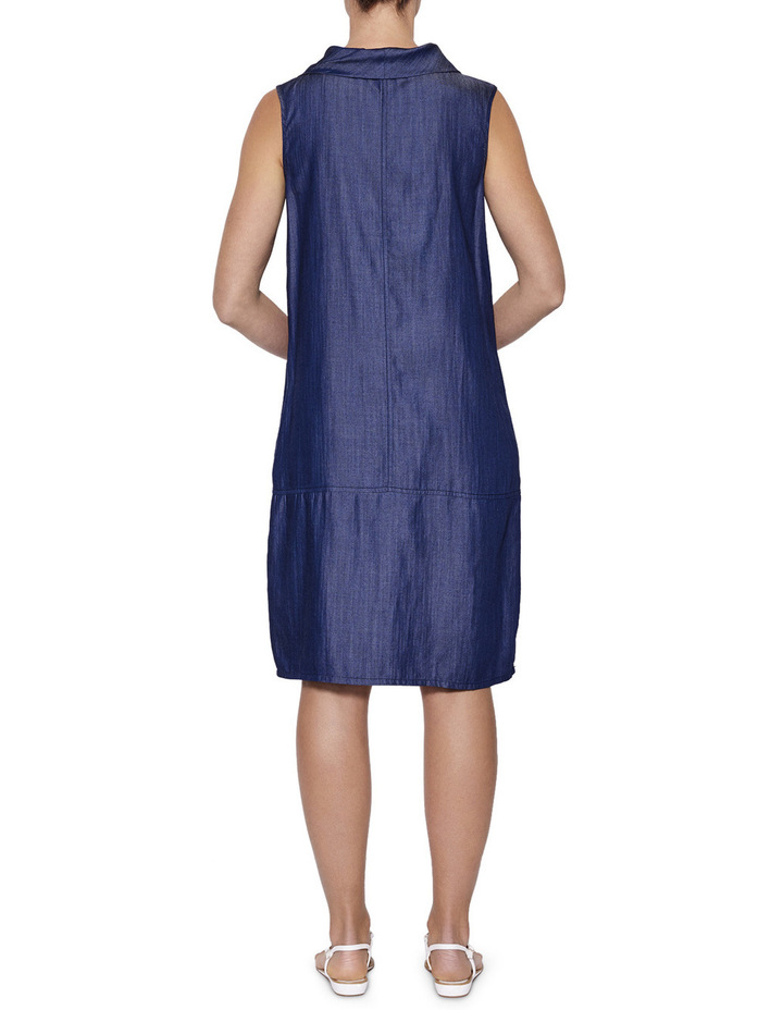 Cowl Neck Tencel Dress image 3