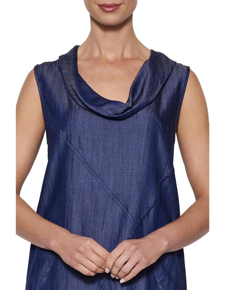 Cowl Neck Tencel Dress image 4