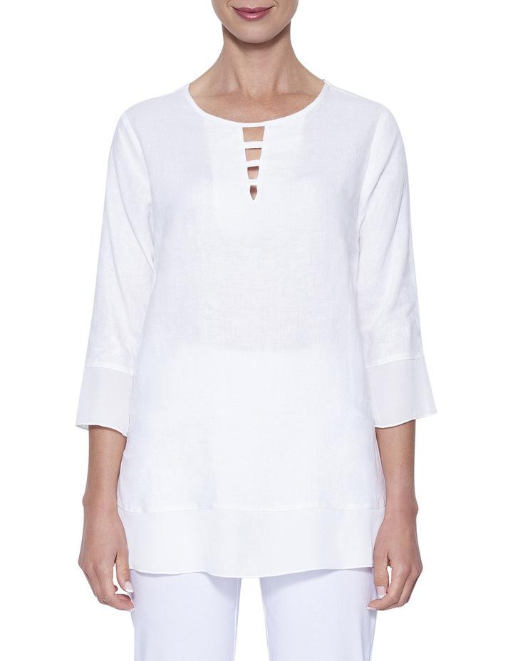 Linen Tunic Top image 1
