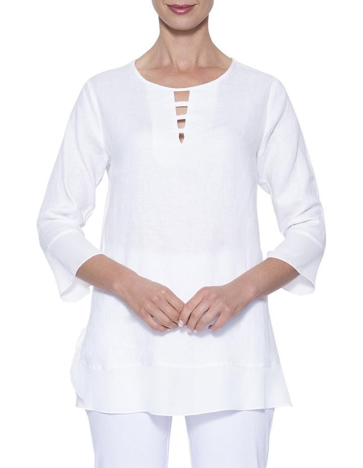 Linen Tunic Top image 2