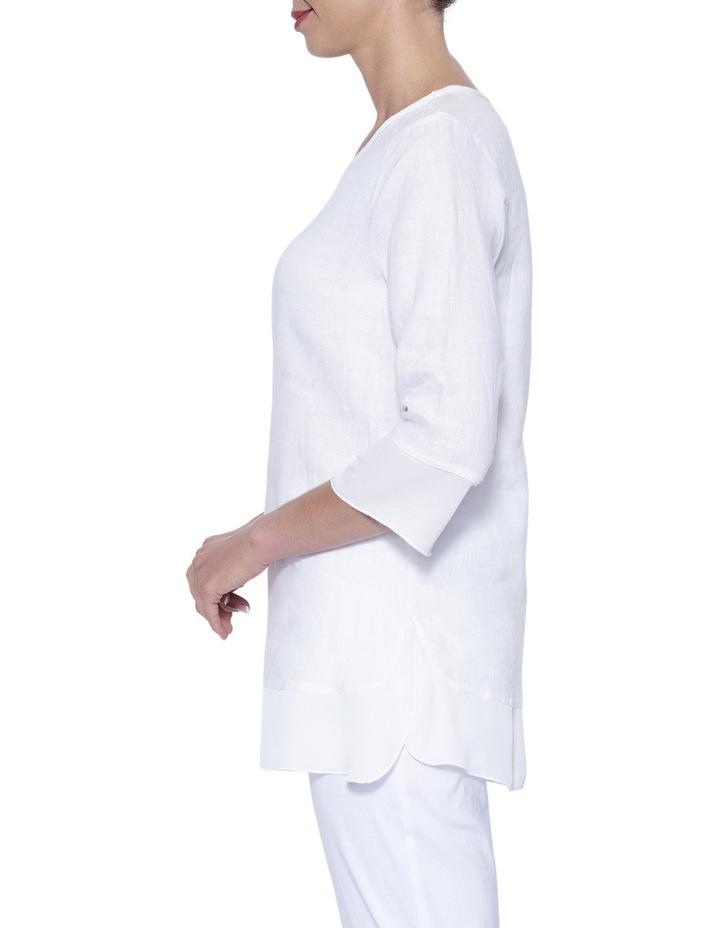 Linen Tunic Top image 3