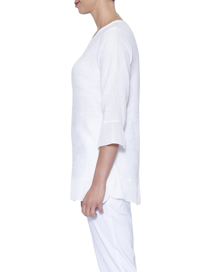 Linen Tunic Top image 4