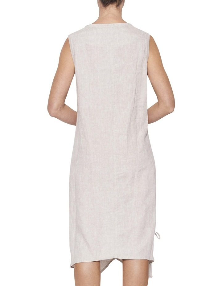 Linen Relaxed Dress image 3