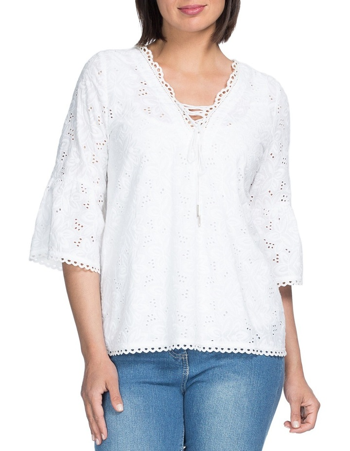 Embroided Tunic Top image 1