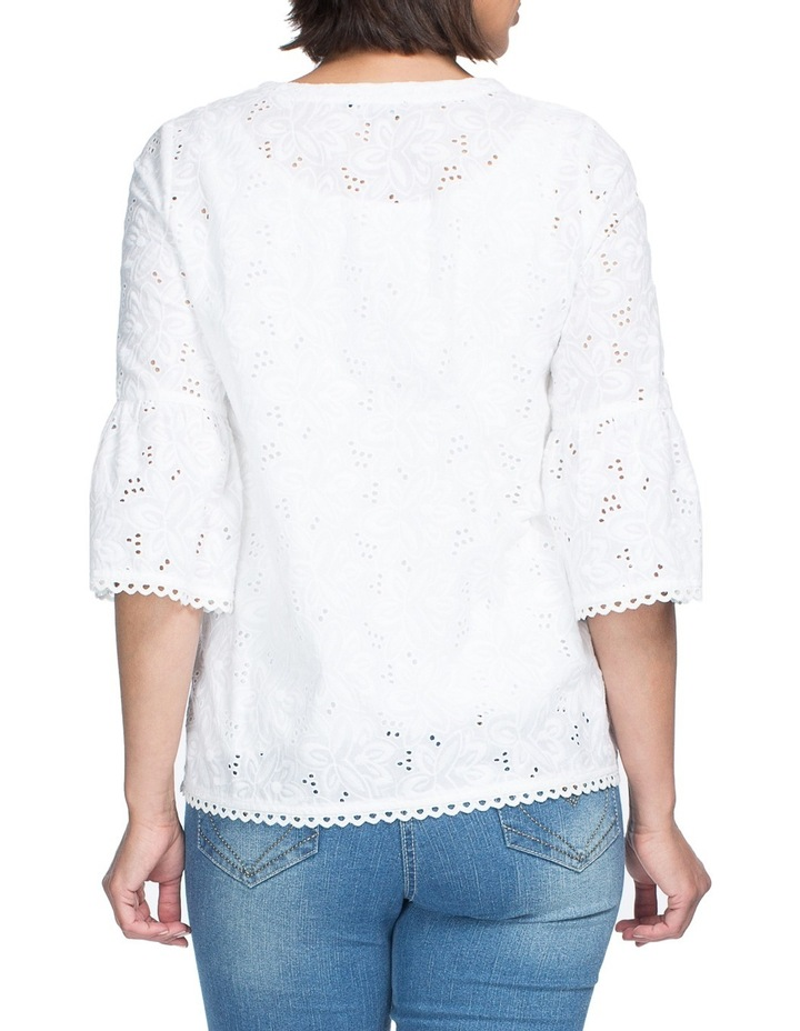 Embroided Tunic Top image 3