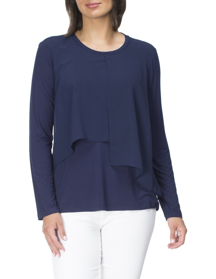 Georgette Overlay Top image 1