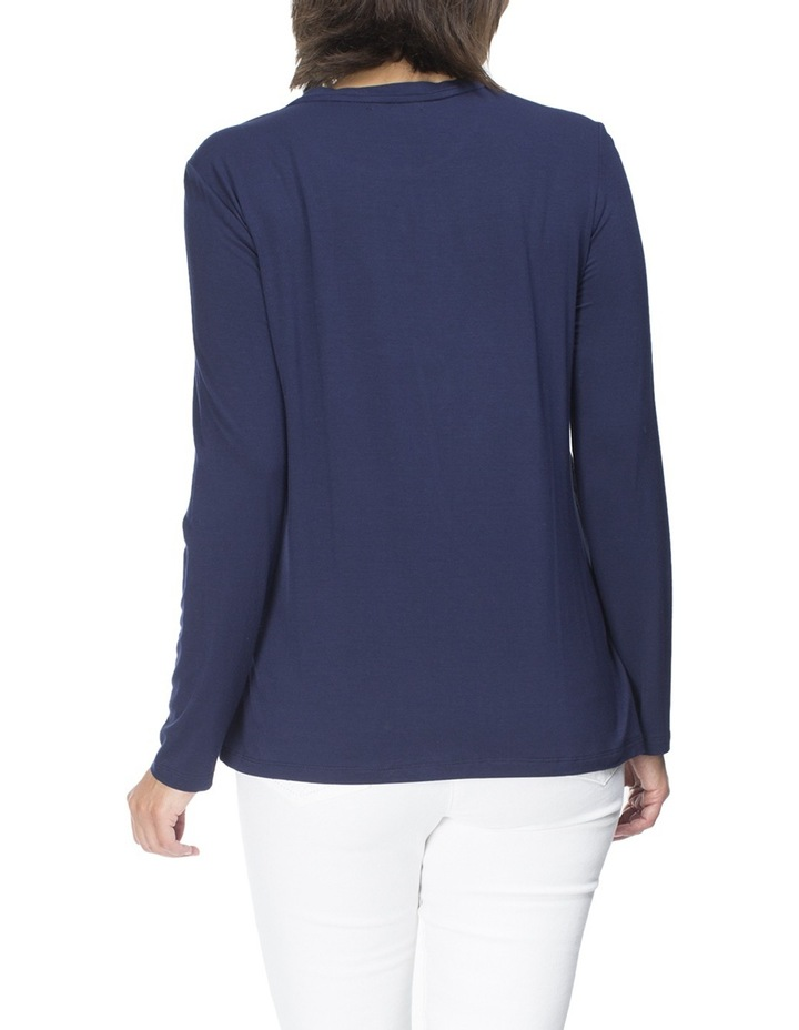 Georgette Overlay Top image 2