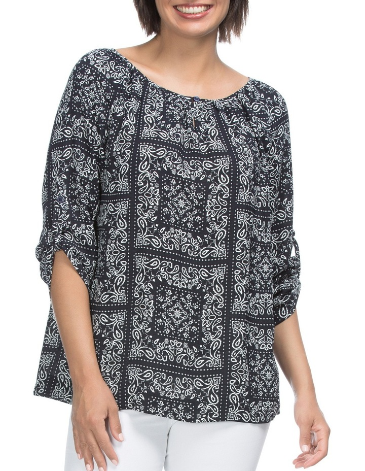 Pasiley Print Tunic Top image 1
