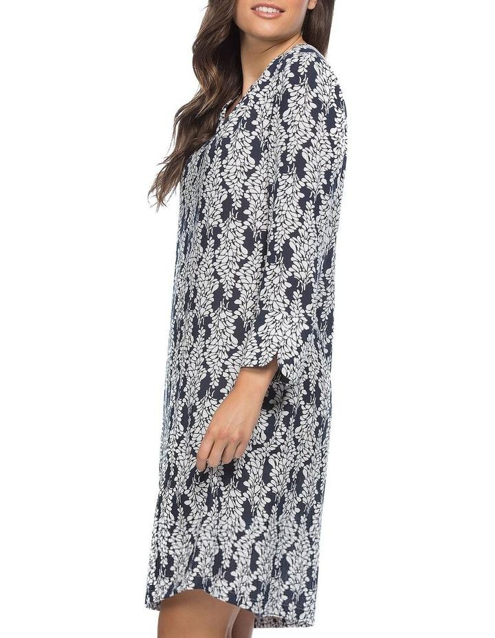 Monotone Print Notch Neck Dress image 2