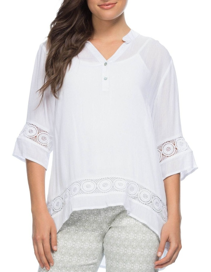 Lace Trim Tunic Top image 1