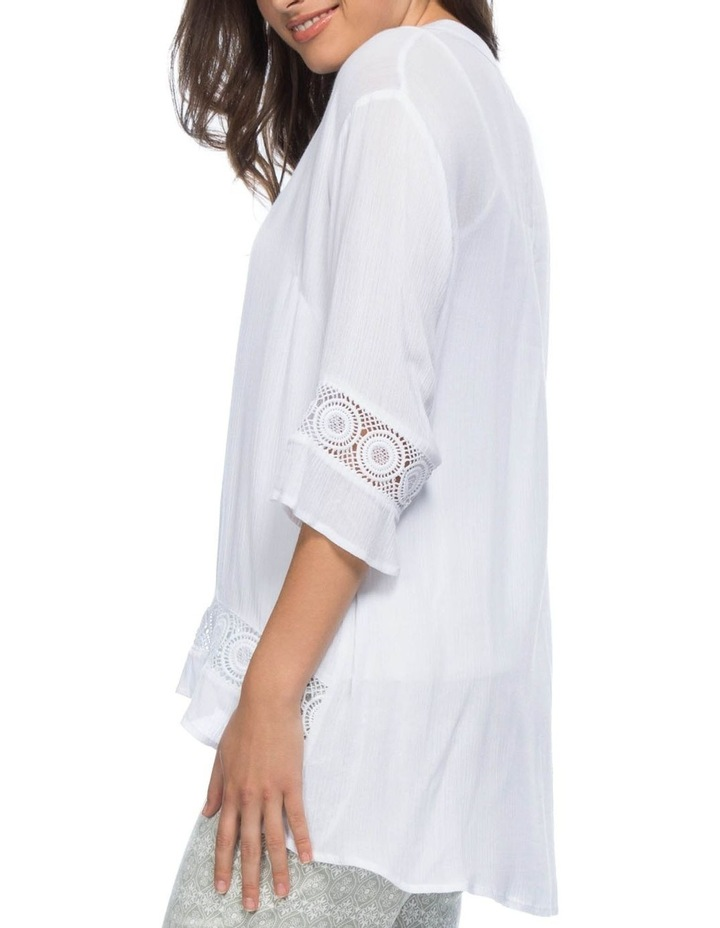 Lace Trim Tunic Top image 2