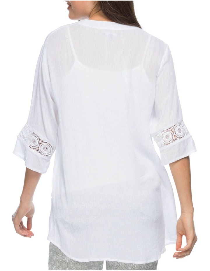 Lace Trim Tunic Top image 3