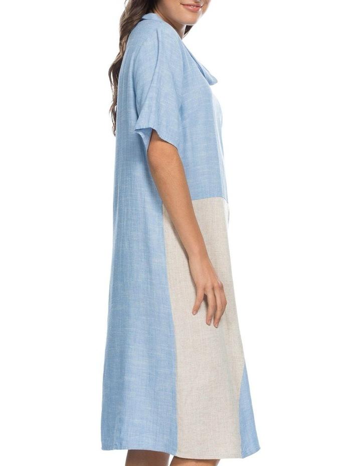 Colour Spliced Cowl Neck Dress image 2