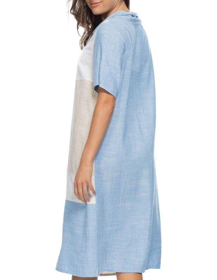 Colour Spliced Cowl Neck Dress image 3