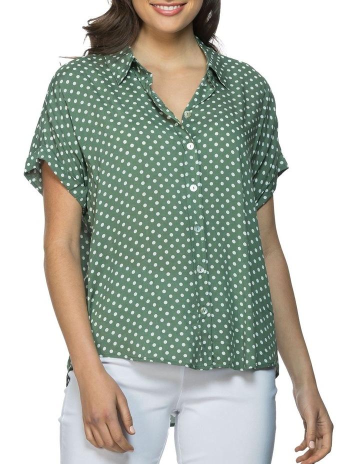 Dot Print Shirt image 1