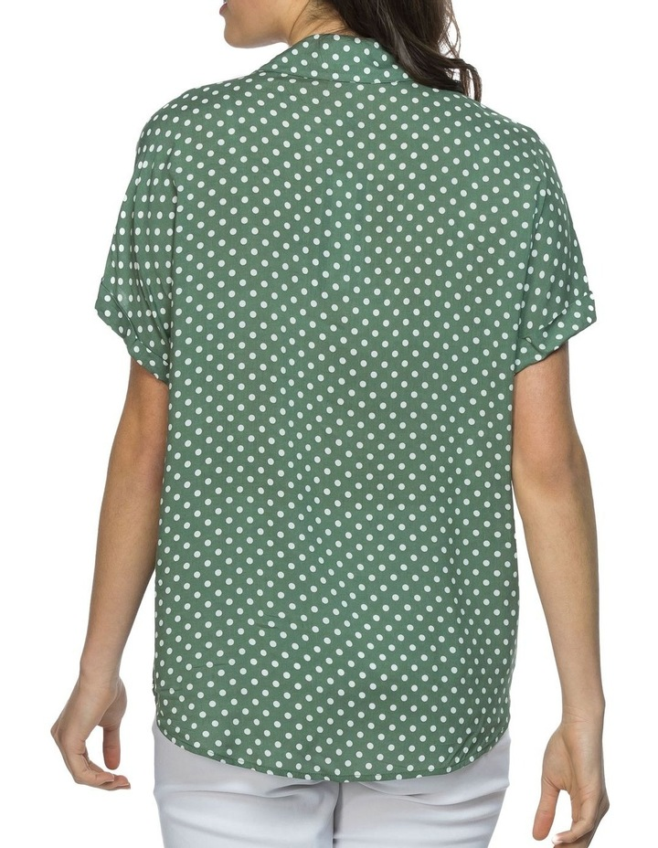 Dot Print Shirt image 3