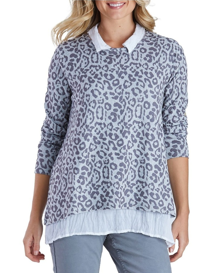 Animal Print 2 In 1 Top image 1