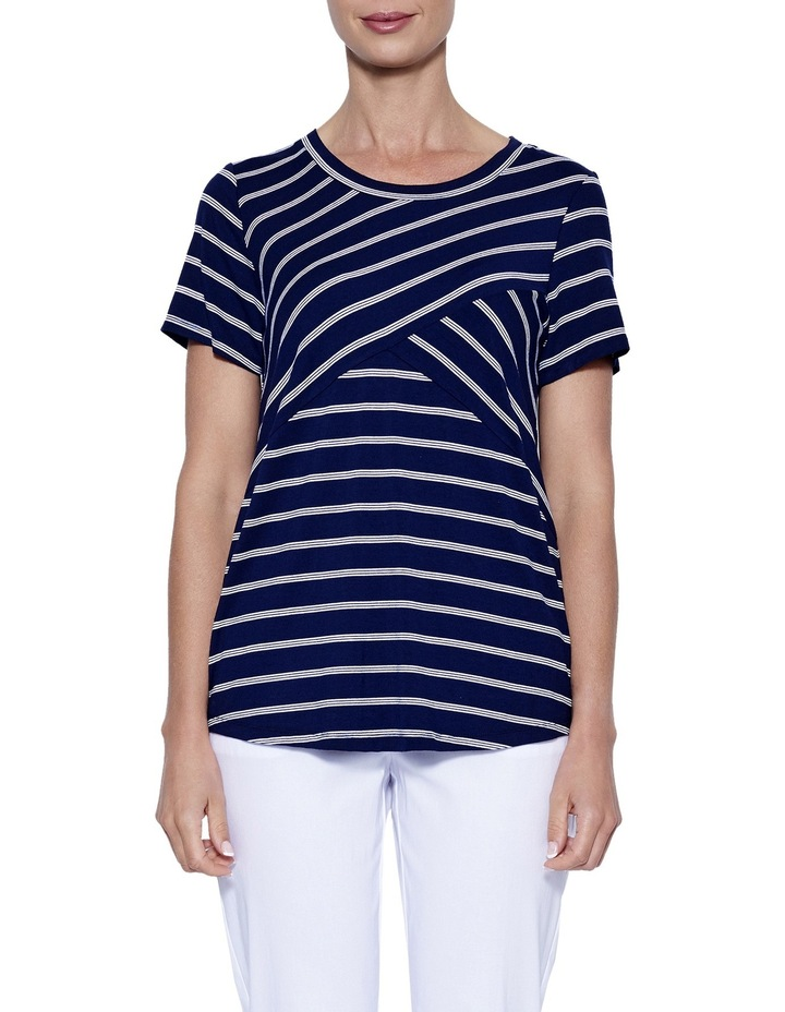 Spliced Stripe Top image 1