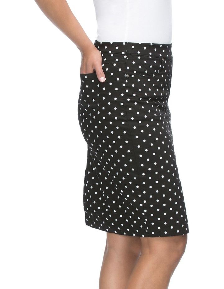 Spot Print Straight Skirt image 4