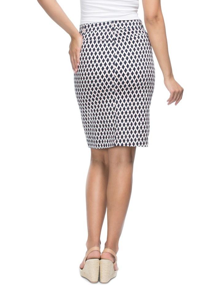 Diamond Print Stretch Skirt image 2