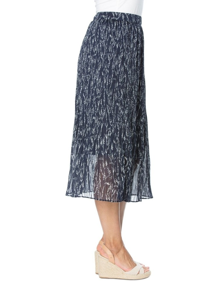 Floral Print Mini Pleat Skirt image 2