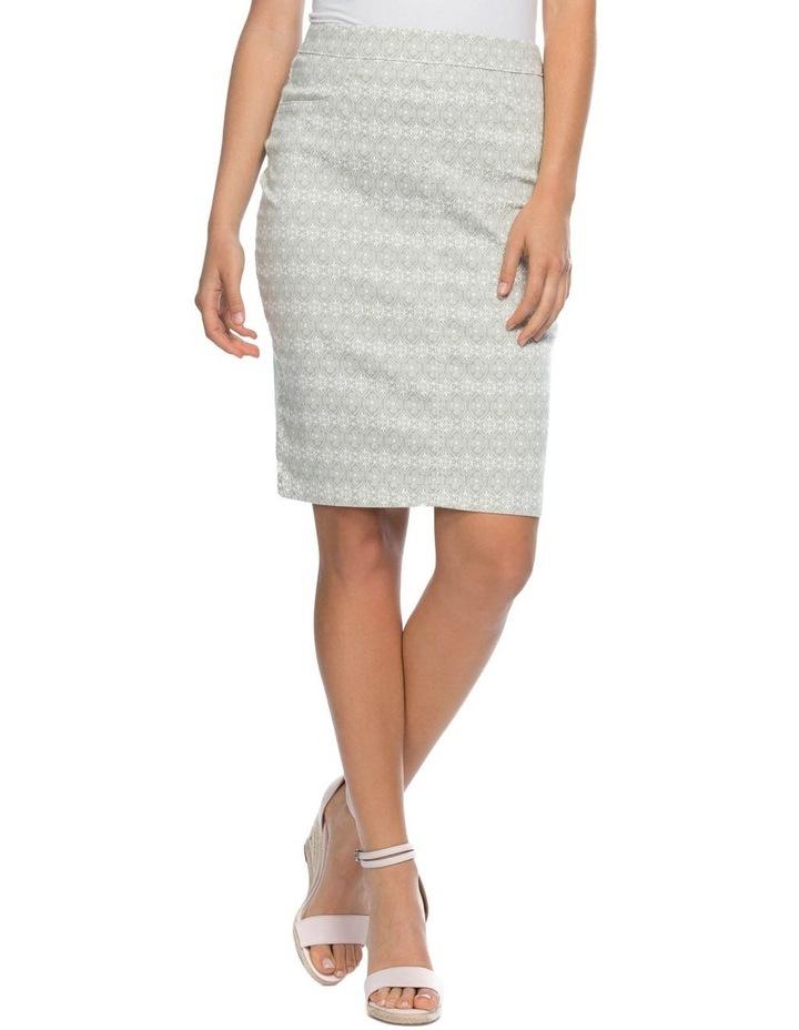Stretch Print Skirt image 1