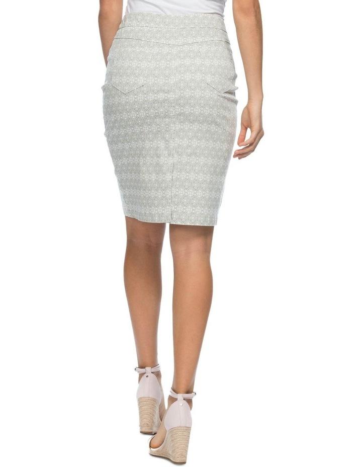 Stretch Print Skirt image 3