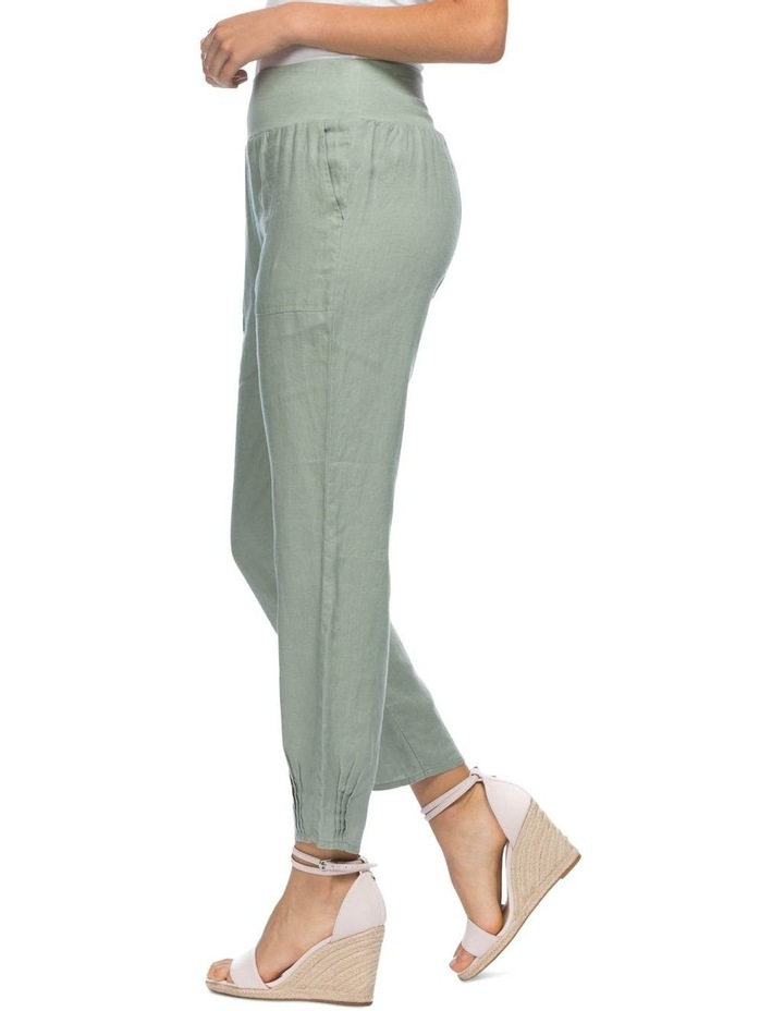 Ribbed Waist Pull On Pant image 2