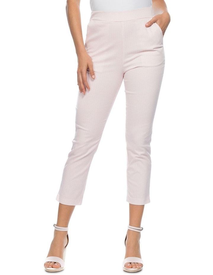 Mini Gingham Check Slim Pant image 1