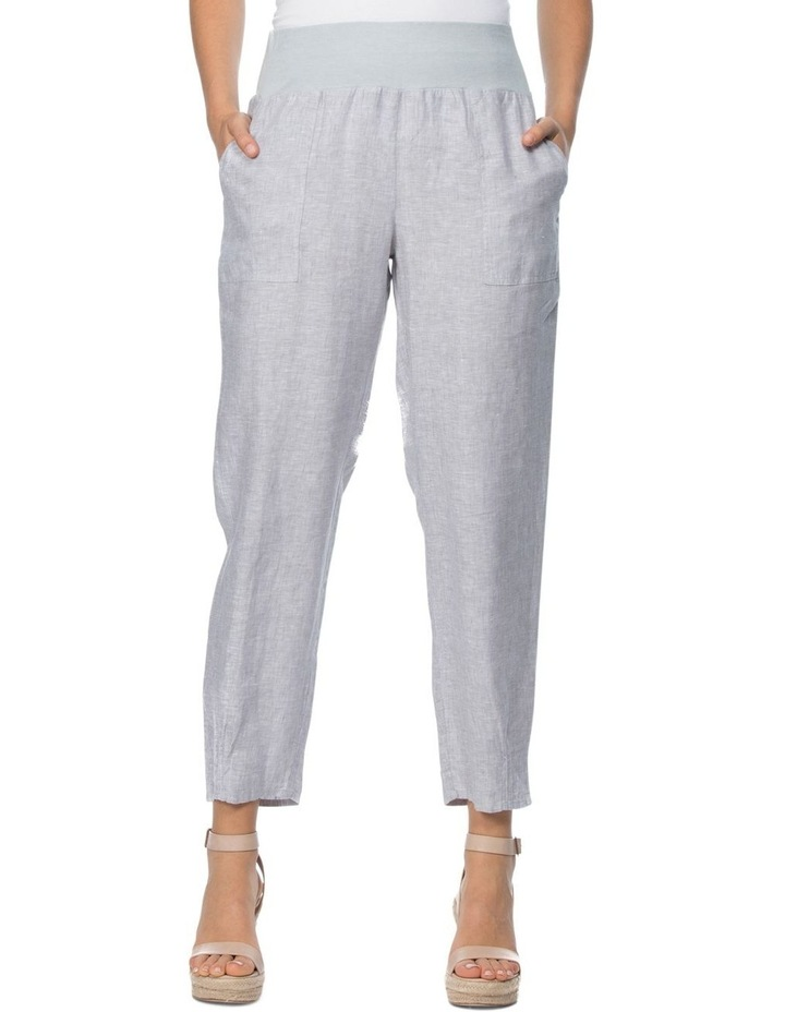 Ribbed Waist Pull On Pant image 1