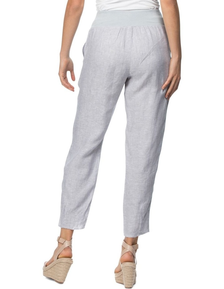 Ribbed Waist Pull On Pant image 3