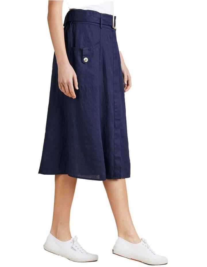 A-Line Linen Skirt image 2