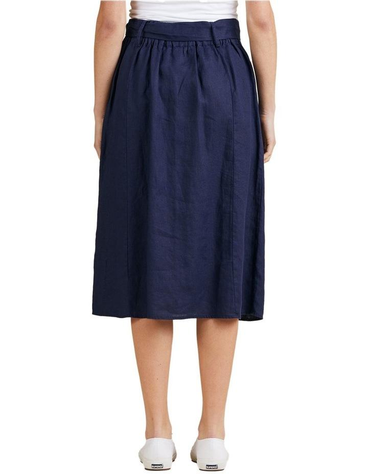 A-Line Linen Skirt image 3