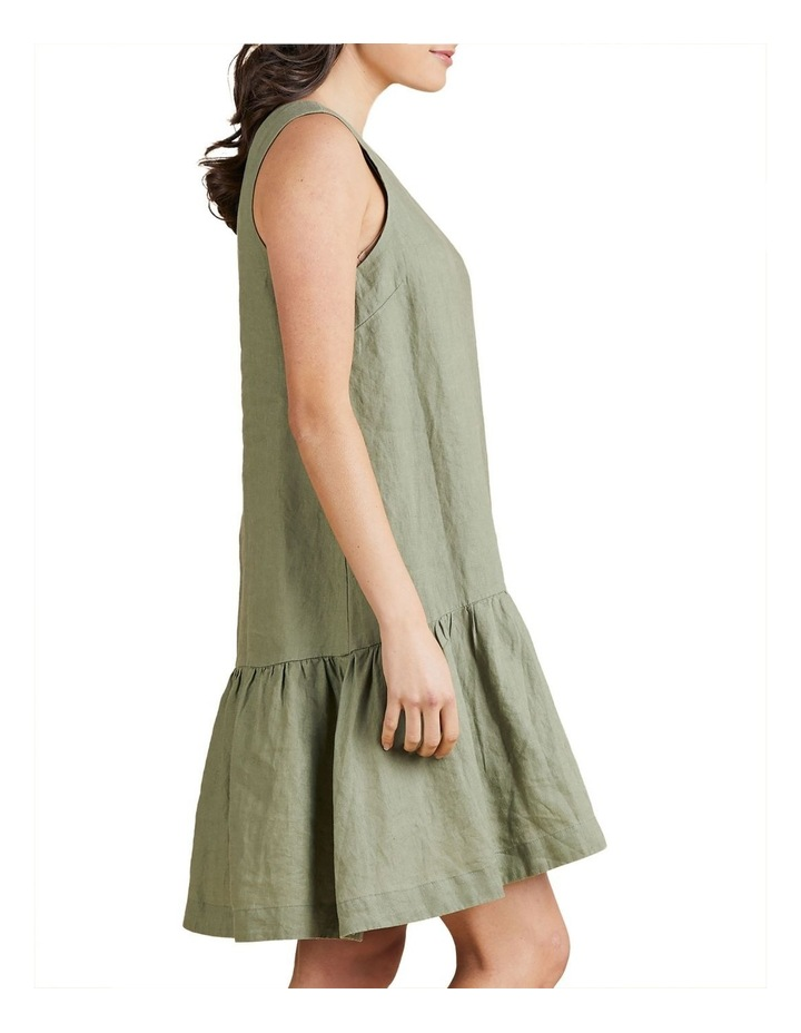 Sleeveless Linen Dress image 2
