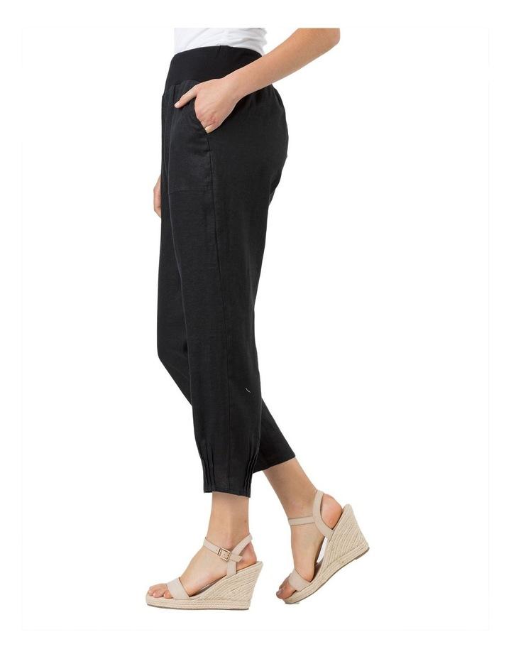 Jersey Waist Linen Pant image 2