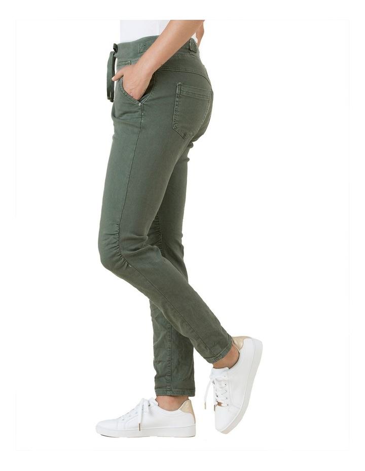Tie Waist Stretch Jogger Pant image 2