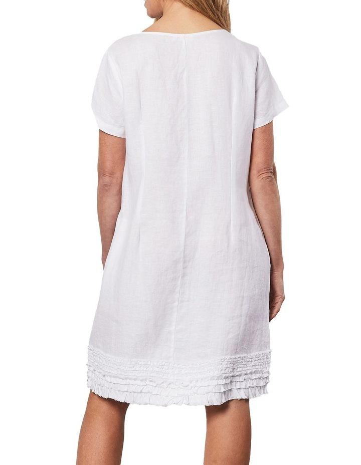 Linen Ruffle Hem Dress image 2