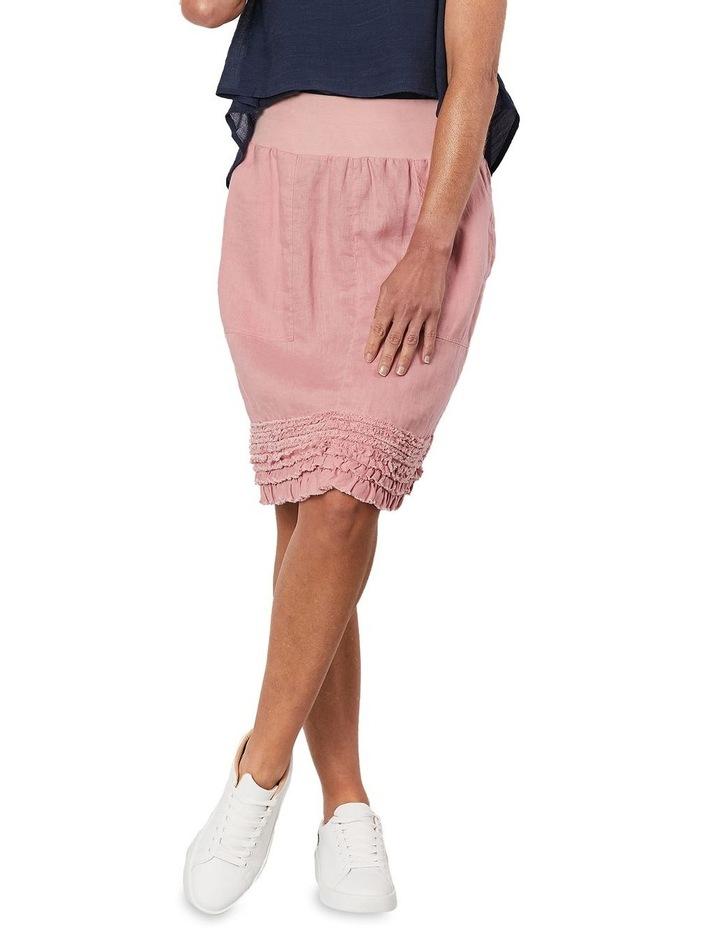 Ruffle Hem Pull On Skirt image 1