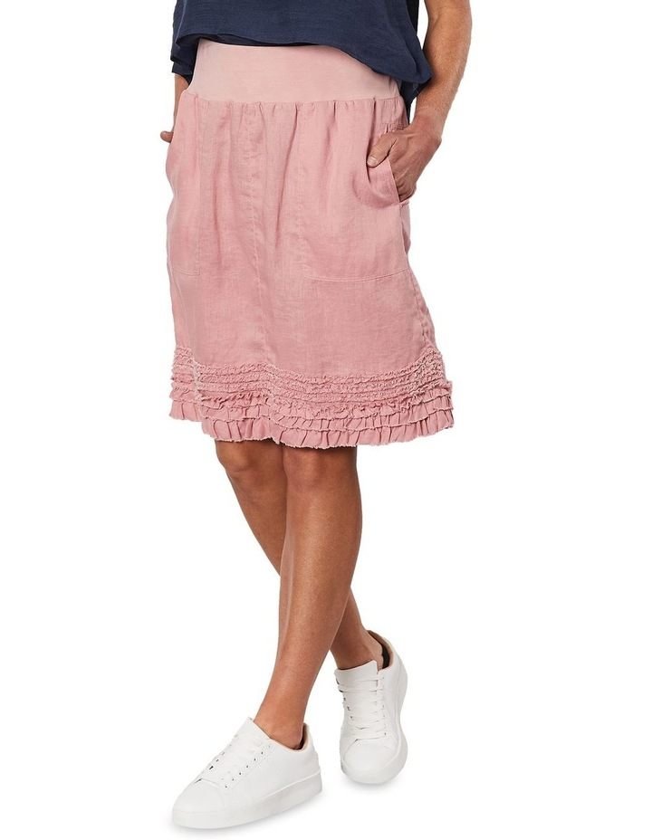 Ruffle Hem Pull On Skirt image 4