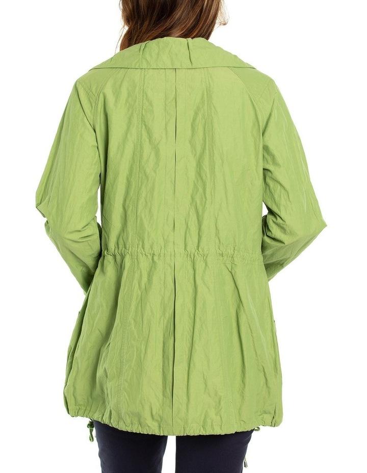 Long Sleeve Pleated Pocket Jacket image 2