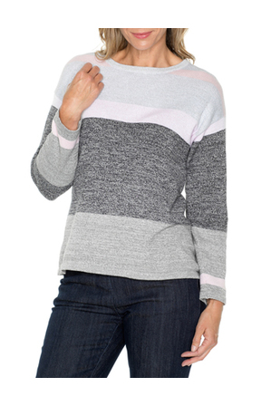 Yarra Trail - Banded Stripe Knit